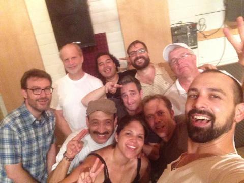 Studio Band Selfie